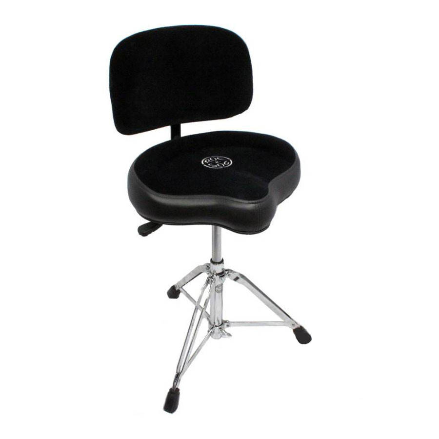roc n soc nitro extended throne with backrest and round seat black long mcquade musical. Black Bedroom Furniture Sets. Home Design Ideas