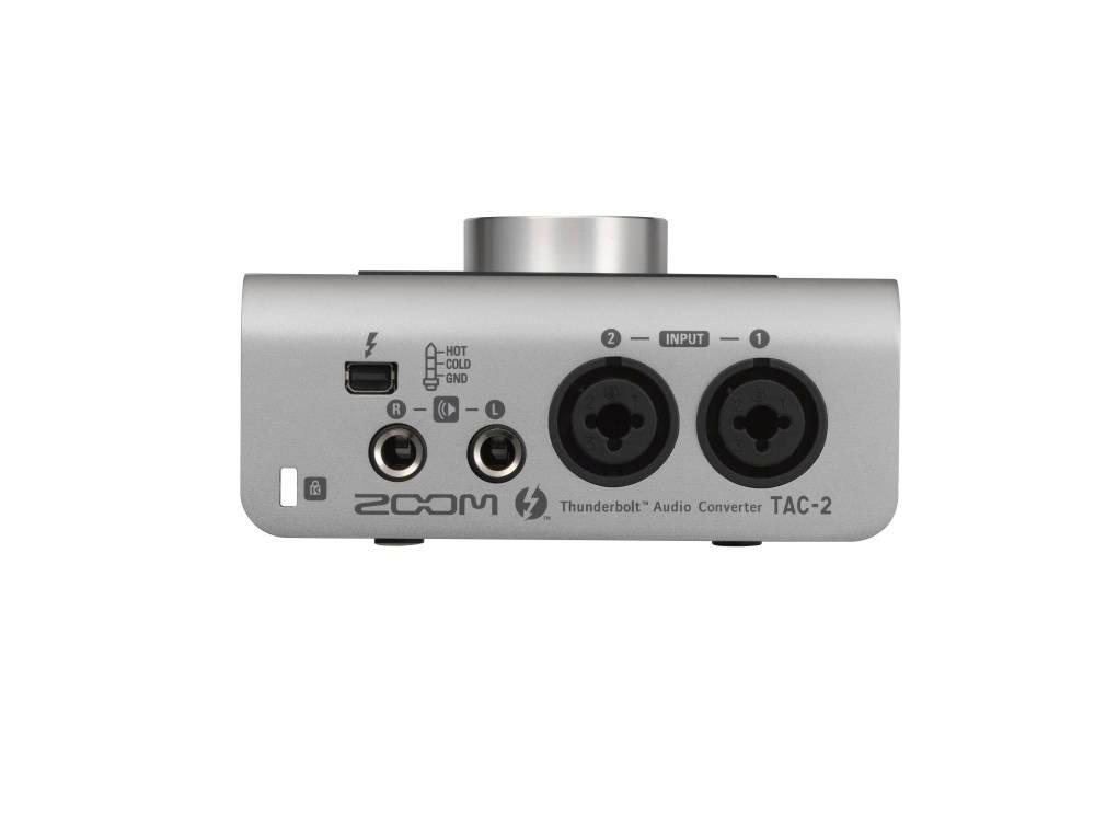 zoom tac 2 thunderbolt audio interface long mcquade musical instruments. Black Bedroom Furniture Sets. Home Design Ideas