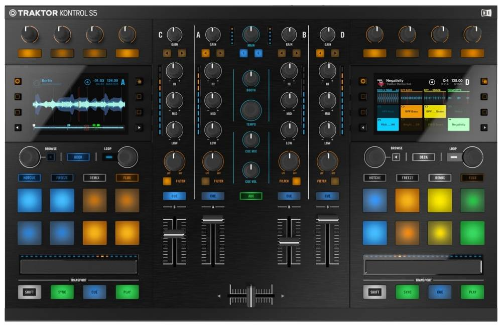 Native Instruments - Traktor Kontrol S5 DJ Controller