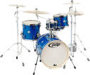 Pacific Drums - New Yorker 4-Piece Shell Pack - Sapphire