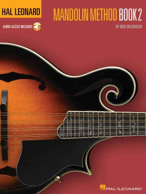 Hal Leonard Mandolin Method Book 2 - DelGrosso - Mandolin - Book/Audio Online