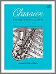 Classics For Sax Quartet - Halferty - Full Score