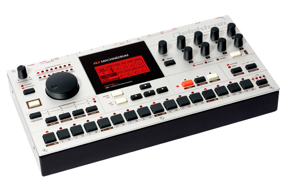 elektron sps1 mkii 16 channel digital drum machine long mcquade musical instruments. Black Bedroom Furniture Sets. Home Design Ideas