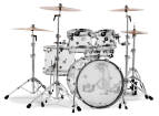 DW - Design Series 5-Piece Acrylic Shell Pack 22/10/12/16/14 - Clear