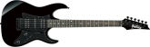 Ibanez - GRX Trem Hss Electric Guitar - Black Night
