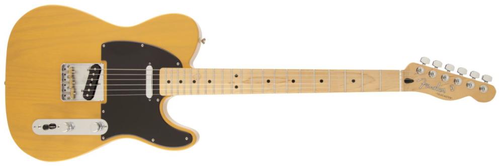 35d8d1a6012 Fender FSR Deluxe Telecaster W/ Maple Neck - Butterscotch Blonde ...
