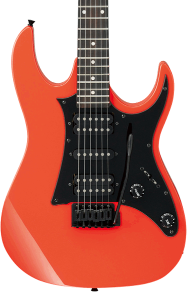 ibanez grx tremolo hsh electric guitar vivid red long mcquade musical instruments. Black Bedroom Furniture Sets. Home Design Ideas