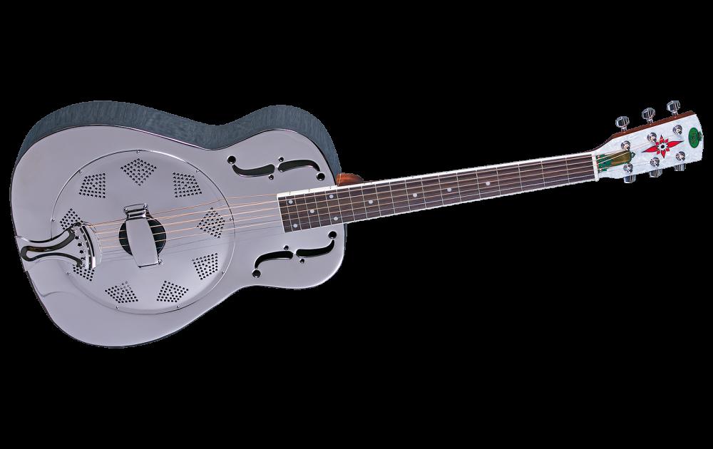 regal duolian nickel plated steel body guitar w slim neck long mcquade musical instruments. Black Bedroom Furniture Sets. Home Design Ideas