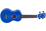 Mahalo - Rainbow Series Soprano Ukulele with Bag - Blue