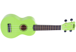 Mahalo - Rainbow Series Soprano Ukulele with Bag - Green