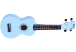 Mahalo - Rainbow Series Soprano Ukulele with Bag - Light Blue