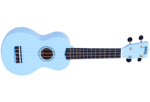 Rainbow Series Soprano Ukulele with Bag - Light Blue