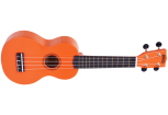 Mahalo - Rainbow Series Soprano Ukulele with Bag - Orange