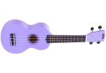 Mahalo - Rainbow Series Soprano Ukulele with Bag - Purple
