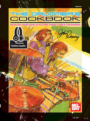 Drummer's Cookbook - Pickering/Briggs - Drumset - Book/Audio Online