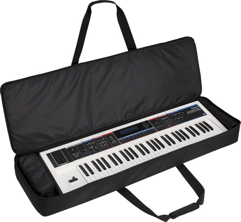roland carrying bag for 61 note keyboards long mcquade musical instruments. Black Bedroom Furniture Sets. Home Design Ideas