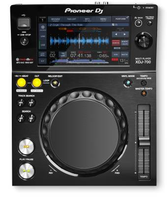 XDJ-700 Touchscreen Compact Player