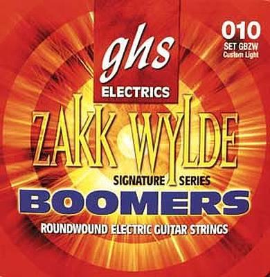 GHS Strings Zakk Wylde Boomers 10 60 Electric