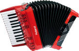 Roland - V-Accordion Student Model - Red