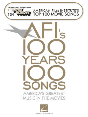 AFI's Top 100 Movie Songs: E-Z Play Today Volume 134 - Electronic Keyboard - Book