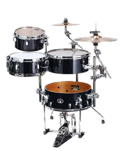 tama silverstar cocktail jam drum kit brushed charcoal black long mcquade musical instruments. Black Bedroom Furniture Sets. Home Design Ideas