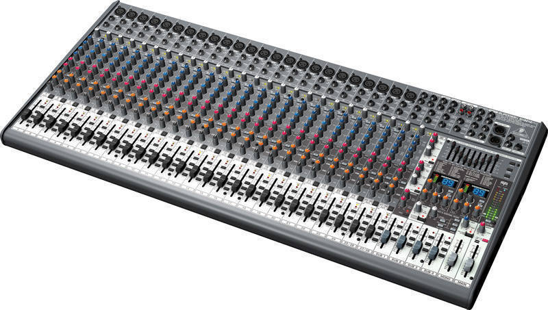 Behringer sx3242fx eurodesk 32 input mixer long mcquade musical instruments - Table de mixage professionnel ...