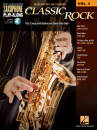 Hal Leonard - Classic Rock: Saxophone Play-Along Volume 3 - Book/Audio Online