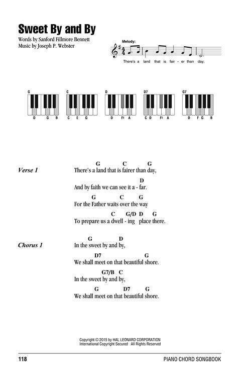Piano piano chords for gospel songs : Hal Leonard Gospel Hymns: Piano Chord Songbook - Book - Long ...
