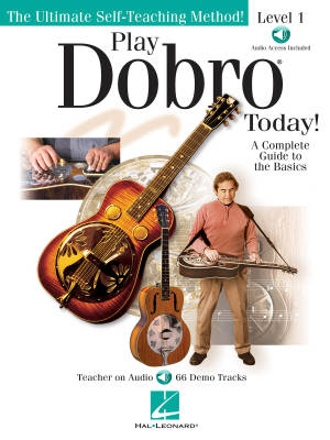 Play Dobro Today! - Level 1: A Complete Guide to the Basics - Phillips - Dobro - Book/Audio Online