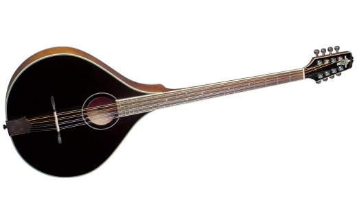 Solid Spruce/Maple Bouzouki - Black Top