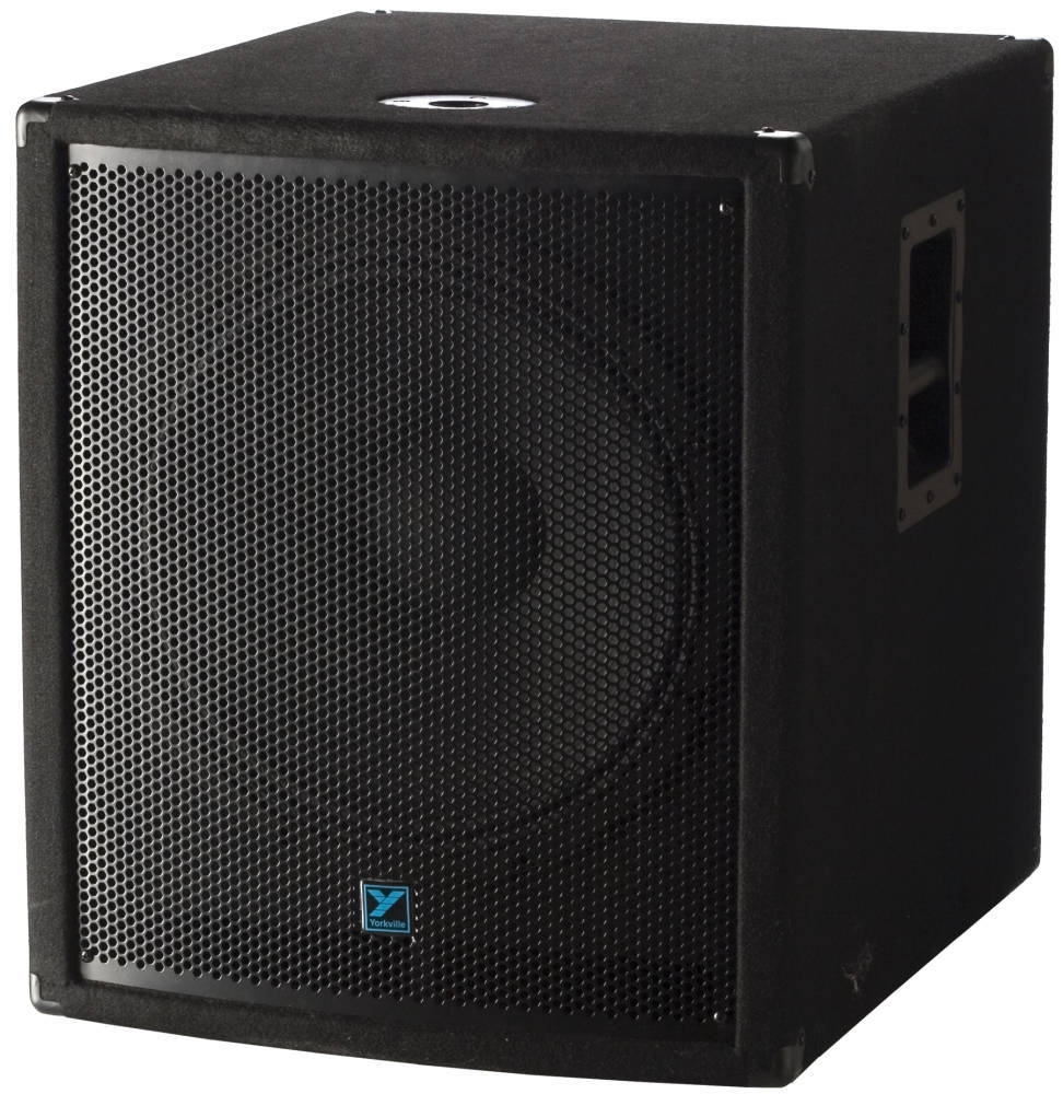 Yorkville Sound 18 Inch Powered Subwoofer Long Amp Mcquade