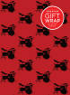 Hal Leonard - Hal Leonard Wrapping Paper: Drumset Theme - 3 Sheets (24x36)