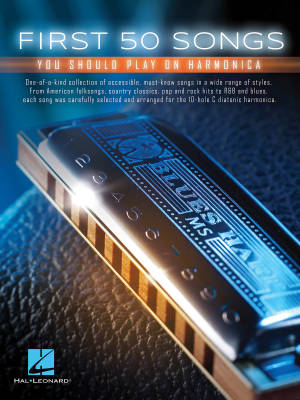 First 50 Songs You Should Play On Harmonica - Book