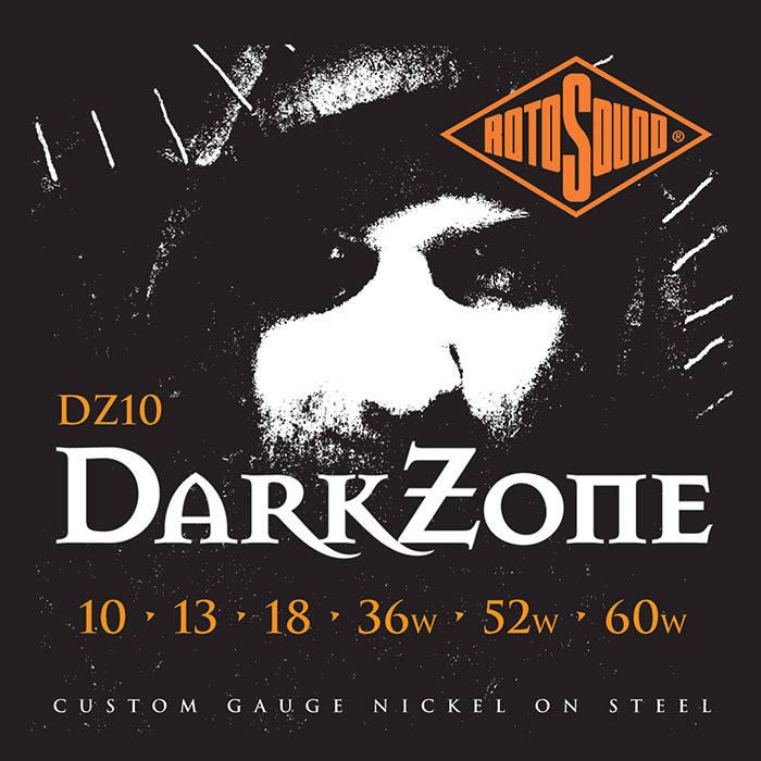 Dark Zone Custom Electric Guitar Strings 10 60