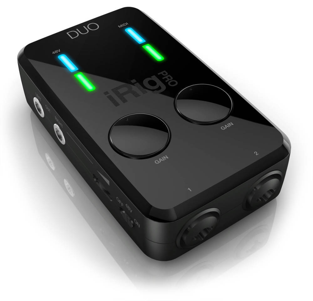 Ik Multimedia Irig Pro Duo 2 Channel Audio Interface Long Advance Speaker Portable Komputer 30