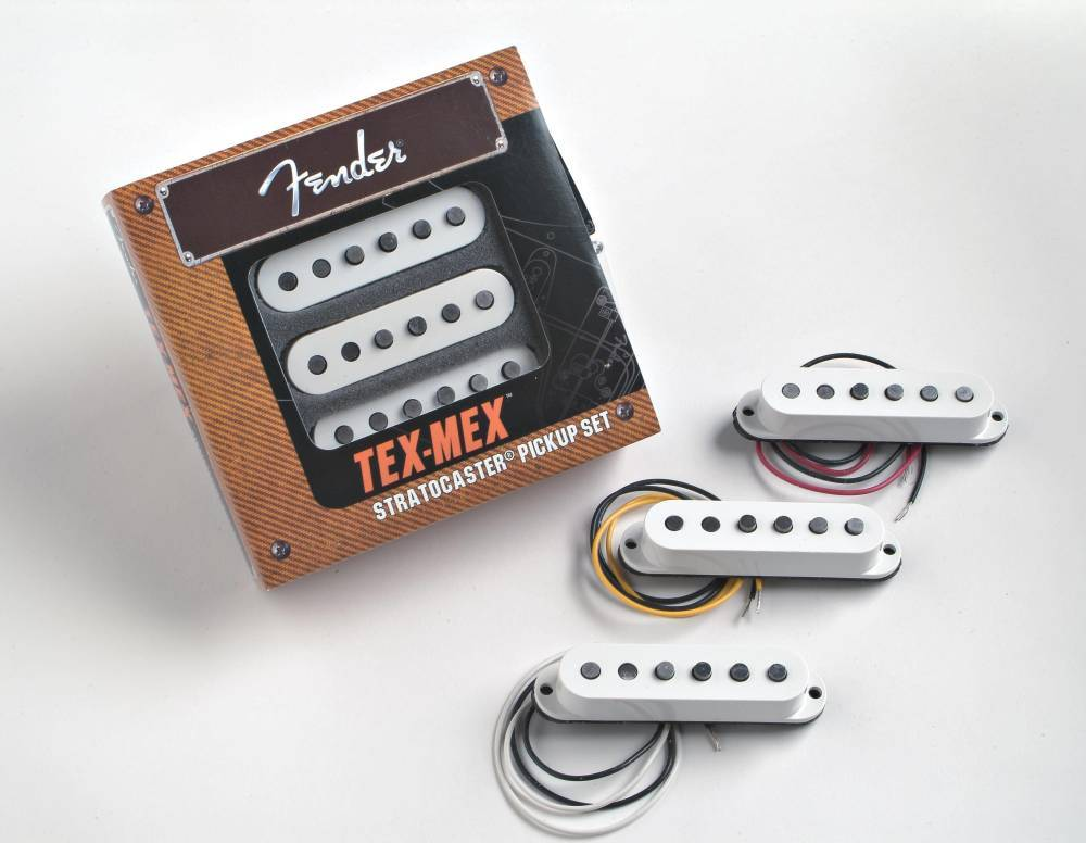 fender tex mex stratocaster pickups set of 3 long mcquade musical instruments. Black Bedroom Furniture Sets. Home Design Ideas