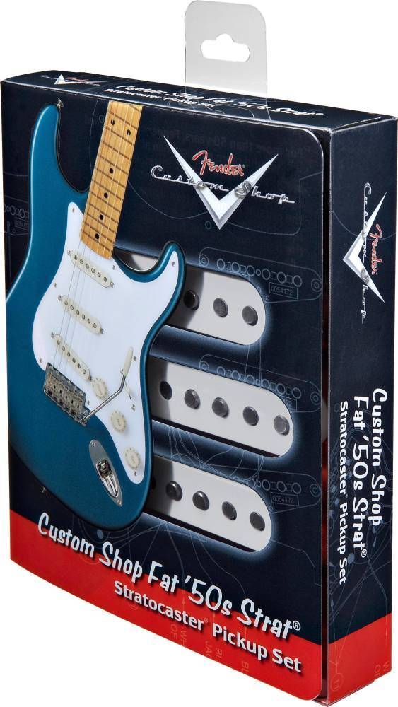 Custom Shop Fat 50'S Stratocaster Pickups Set of 3
