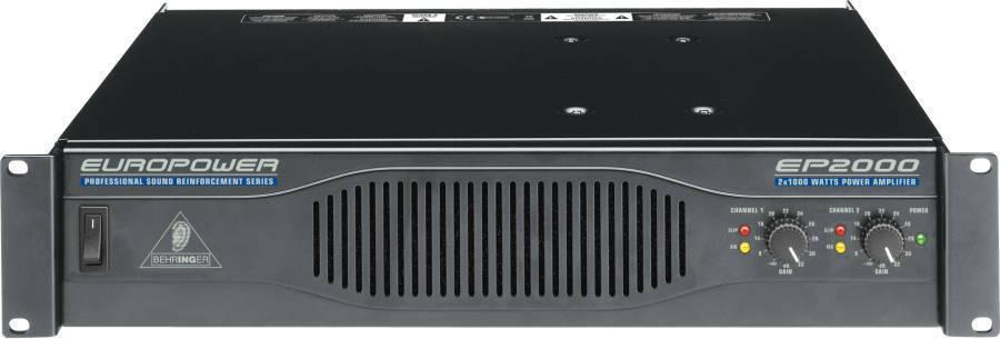 Behringer - EP2000 - 2 x 1000 Watts Power Amp