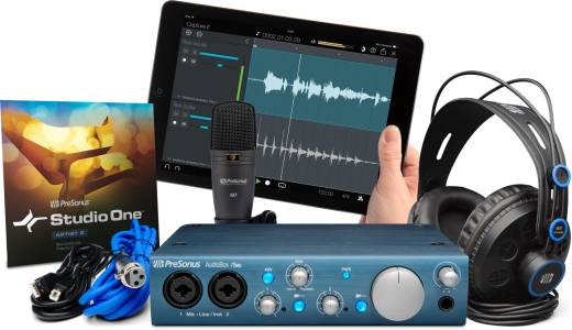 Complete Mobile Hardware/Software Recording Package