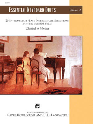 Essential Keyboard Duets, Volume 2 - Kowalchyk/Lancaster - Piano Duets (1 Piano, 4 Hands)