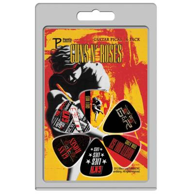 Guns N' Roses Picks Set #1 (6 Pack)