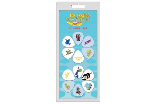 The Beatles Yellow Submarine 12 Pack Guitar Picks