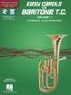Hal Leonard - Easy Carols for Baritone T.C., Vol. 1 - Book/Media Online