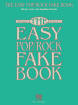 Hal Leonard - The Easy Pop/Rock Fake Book - C Instruments - Book