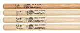 Los Cabos Drumsticks - 5A 4-Pack of Sticks - 1x Red Hickory pair, 3x White Hickory Pairs