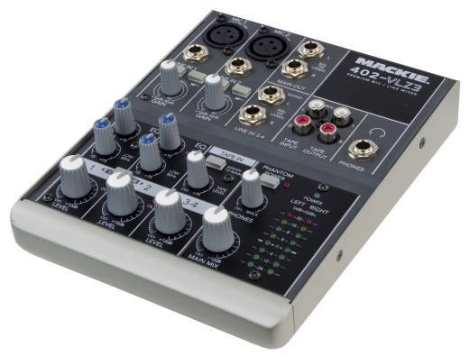 402-VLZ3 - 4 Channel Compact Mixer