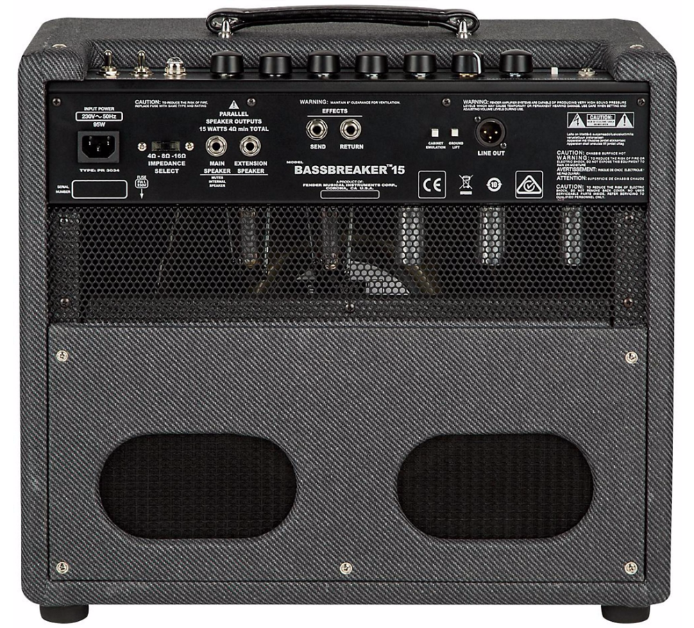 Bassbreaker 15W 1x12 Tube Combo Amp