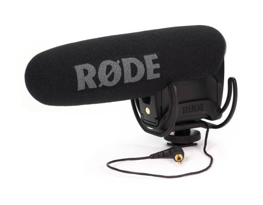 VideoMic Pro with Rycote Lyre Suspension