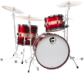 Pork Pie Percussion - Hip Pig 3-Piece Shell Pack - 13/16/22 - Red Gold Duco