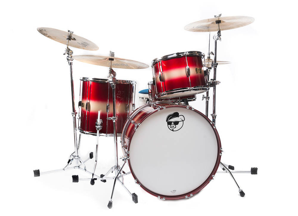 Pork Pie Percussion Hip Pig 3-Piece Shell Pack - 13/16/22 - Red Gold Duco - Long u0026 McQuade Musical Instruments  sc 1 st  Long u0026 McQuade & Pork Pie Percussion Hip Pig 3-Piece Shell Pack - 13/16/22 - Red ... islam-shia.org